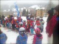 In Switzerland kids as young as 3 years old start skiing.