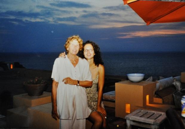 Grandma and I, over ten years ago.