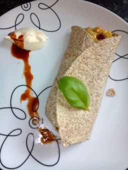 swiss breakfast burrito